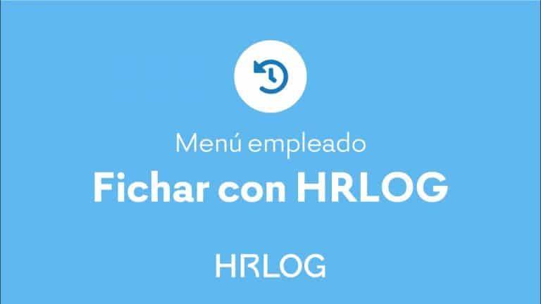 Fichar con HRLOG