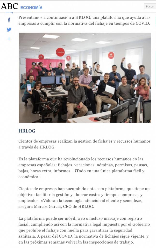HRLOG en ABC.es 1