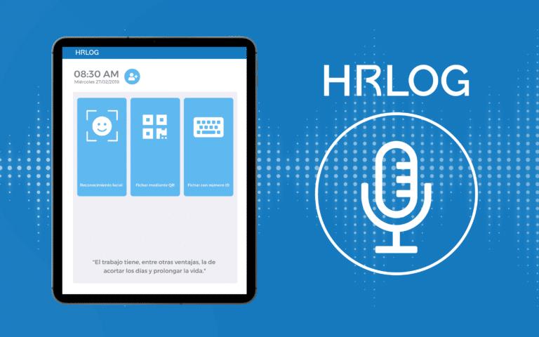 HRLOG control horario seguro y sin contacto